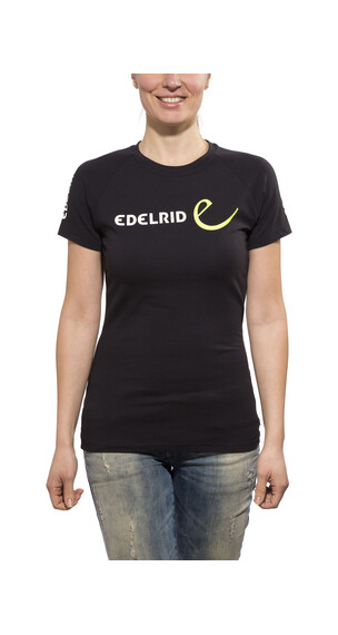 Edelrid Logo T-Shirt Women black